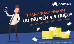 Nạp tiền trước AhaMove: Thanh toán nhẹ, ưu đãi khỏe tới 15%