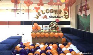 Đầu tuần xông đất đại bản doanh đẹp như mơ của AhaMove