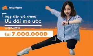 [Từ 01/04/19] Nạp tiền trả trước – Ưu đãi mơ ước tới 7.000.000Đ