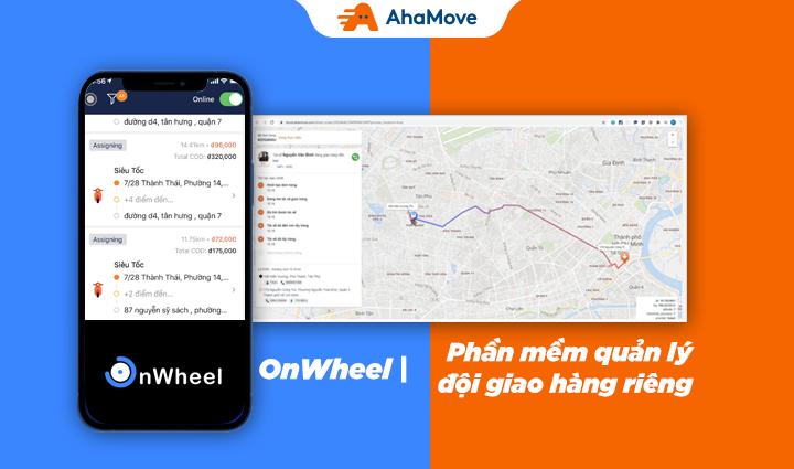 [Giới thiệu sản phẩm] OnWheel – Phần mềm quản lý đội giao hàng riêng